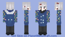 David Hockney || Tower of God Minecraft Skin
