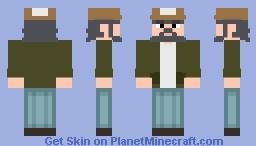 Kenny   The Walking Dead Minecraft Skin