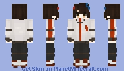 25th Baam 밤 || Tower Of God Minecraft Skin