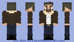 Old Man Logan(Concept Art) Minecraft Skin