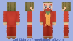 The Joker - Joaquin Phoenix Minecraft Skin
