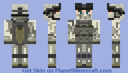 75 Rangers Regiment (COD MW2) Minecraft Skin