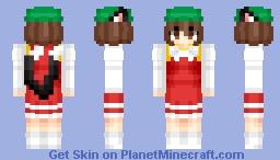 Neko Chen (橙) | Touhou (東方) Project | Anime game Minecraft Skin