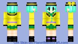 Koishi Komeiji (古明地 こいし) | Touhou (東方) Project | Anime game Minecraft Skin
