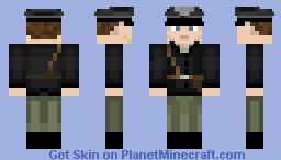 Peter Müller battlefield 5 Minecraft Skin