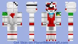 Pach-Up my custom fnaf skin Minecraft Skin