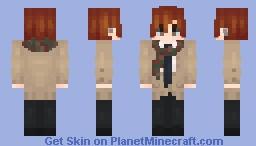 Sasaki Shuumei || Sasaki to Miyano Minecraft Skin