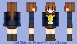 Fumizuki (文月) (Kai-II) | KanColle (艦これ) | Anime game Minecraft Skin