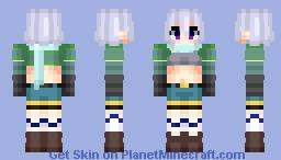Chris (クリス) | Kono Subarashii Sekai Ni Shukufuku wo! (この素晴らしい世界に祝福を!) | Anime cartoon Minecraft Skin
