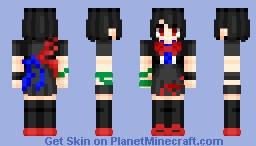 Nue Houjuu (封獣 ぬえ) | Touhou (東方) Project | Anime game Minecraft Skin
