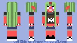 Mariah Lucifer (OC) Minecraft Skin