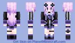 Adult Neptune (Hyperdimention Neptunia) Minecraft Skin