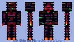 Astral Armada Fireguard one Minecraft Skin