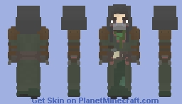 The Drifter Minecraft Skin