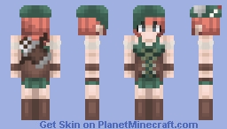 Akaisha (Otherworld Legends) Minecraft Skin