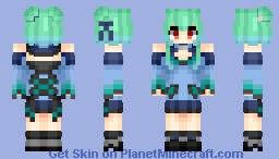 Uruha Rushia (潤羽るしあ) | Hololive Production (ホロライブプロダクション) Minecraft Skin