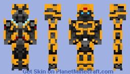 Bumblebee (Transformers) Minecraft Skin