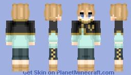 Luck Voltia (ラック•ボルティア) | Black Clover (ブラッククローバー) Minecraft Skin