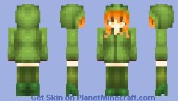 Cupa the creeper Minecraft Skin
