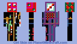 Red Herrington Dzyxnx Minecraft Skin