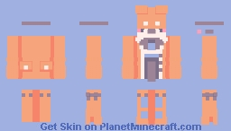 ーOrange Juice Minecraft Skin