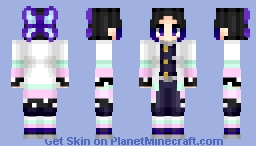 Kochou Shinobu (胡蝶 しのぶ) | Kimetsu no Yaiba (鬼滅の刃) | Anime manga/cartoon Minecraft Skin