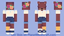 ♡ teddy ♡ Minecraft Skin