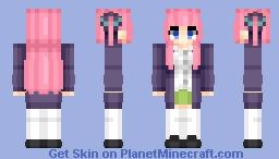 Nino Nakano ( 中 なか 野 の 二 に 乃 の) | Go-Tōbun no Hanayome (五等分の花嫁) Minecraft Skin