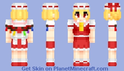 Flandre Scarlet (フランドール・スカーレット) | Touhou (東方) Project Minecraft Skin