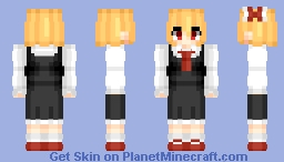 Rumia (ルーミア) (Remake) | Touhou (東方) Project Minecraft Skin