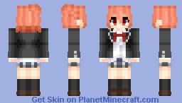 Yui Yuigahama (由比ヶ浜 結衣) | My Youth Romantic Comedy Is Wrong, As I Expected (やはり俺の青春ラブコメはまちがっている。) Minecraft Skin