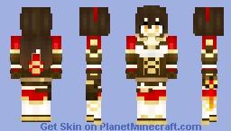 Amber (Genshin Impact) Minecraft Skin