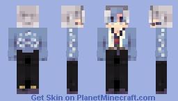 ꜱʜɪɴɪɴɢ ᴇʙᴏʏ ✧・゚ Minecraft Skin