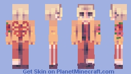ʙᴜʀɴɪɴɢ ꜱᴘɪɴᴇ 🔥 Minecraft Skin