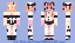 ᴅɪᴠɪɴɢ ᴍᴀɪᴅ 🤿 Minecraft Skin