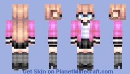 Oh No | NightlyCat - Vtuber [Skin Request] Minecraft Skin