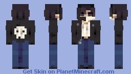 ʙᴀᴅ ʙᴏʏ ᴡᴀɴᴛ ɢᴏᴏᴅ ɢɪʀʟ 🖤 Minecraft Skin