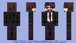 REQUST | ʙᴜꜱɪɴᴇꜱꜱ ᴍᴀɴ Minecraft Skin