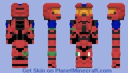 ZappyGru (Halo 3 Mjolnir Mark VI Armor) Minecraft Skin