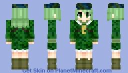 Takane Yamashiro [山城 たかね] | Touhou [東方] Project | Request Minecraft Skin