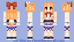 Ibuki Suika [伊吹 萃香] | Touhou [東方] Project Minecraft Skin