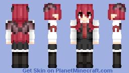 Koakuma (小悪魔) | Touhou (東方) Project Minecraft Skin
