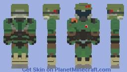Doomslayer (2016/Praetor) Minecraft Skin