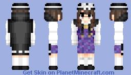 Usami Sumireko (宇佐見 菫子) | Touhou (東方) Project Minecraft Skin
