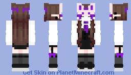 ♤Kistune Mask♤ Minecraft Skin