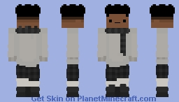 my christmas skin updated ._. Minecraft Skin