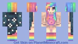 A magical Human Poptart Minecraft Skin