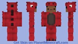 My dino onesie skin updated ._. Minecraft Skin