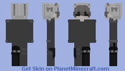 No Minecraft Skin