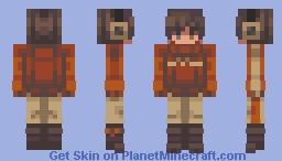 The Cadet Minecraft Skin